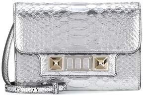 Proenza Schouler PS11 Wallet metallic leather clutch
