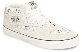 Vans Men's X Peanuts Half Cab Sneaker