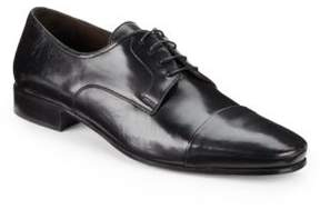 Bruno Magli Martico Leather Cap-Toe Dress Shoes - Available in Extended Sizes