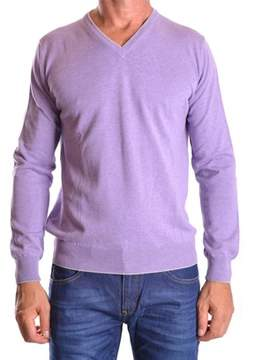 Altea Men's Purple Cotton Sweater.