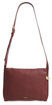 Skagen Slim Anesa Leather Crossbody Bag - Red
