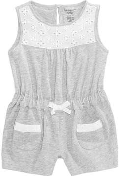 First Impressions Eyelet Romper, Baby Girls (0-24 months), Created for Macy's