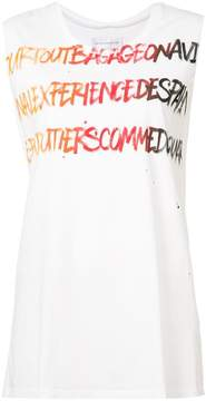 Faith Connexion text detail tank
