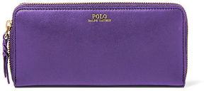 Polo Ralph Lauren Leather Zip-Around Wallet