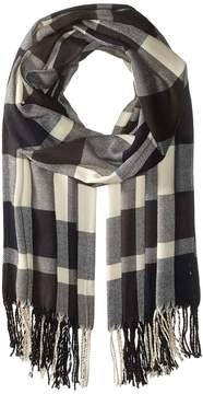 Plush Ultra Soft Fleece Plaid Scarf