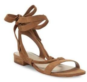 424 Fifth Yasmin Suede Sandals