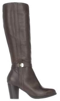 Giani Bernini Womens Raiven Leather Closed Toe Knee High Fashion Boots.