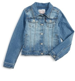 Levi's Girl's Denim Trucker Jacket