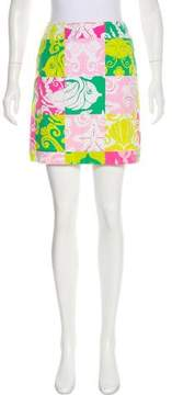 Lilly Pulitzer Printed Mini Skirt