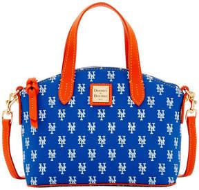 Dooney & Bourke New York Mets Ruby Mini Crossbody Satchel - BLUE/ORANGE - STYLE