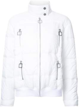 Courreges high neck puffer jacket