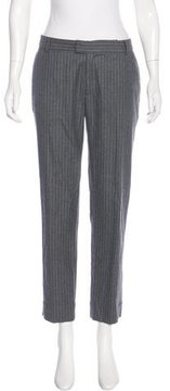 Band Of Outsiders Wool-Blend Mid-Rise Pants