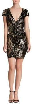 Dress the Population Sequined Bodycon Dress