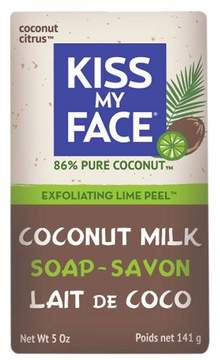 Kiss My Face Coconut Lime Exfoliating Bar Soap - 5oz