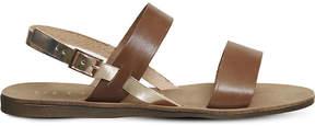 Office Honey sling back leather sandals