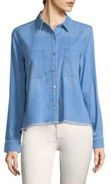 7 For All Mankind Denim Button-Front Shirt