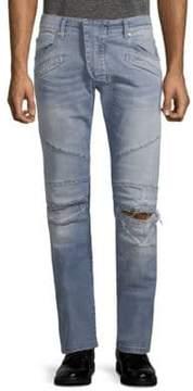 Pierre Balmain Slim-Fit Ripped Jeans