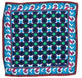 Etro Silk Printed Handkerchief