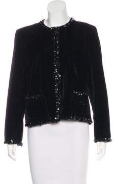 Chanel Paris-Edinburgh Velvet Jacket