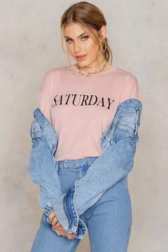 NA-KD Na Kd Saturday Long Sleeve Top