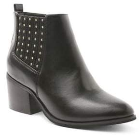 Kensie Anthony Leather Booties