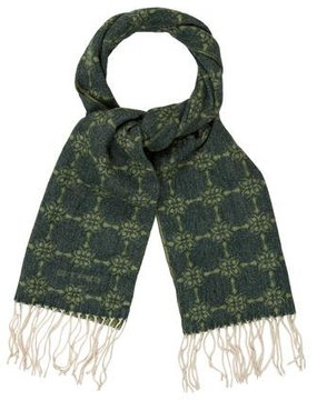 Etro Patterned Fine Knit Scarf