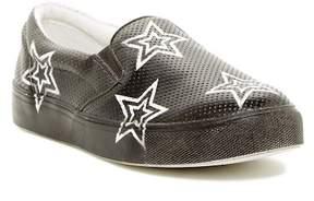 Mia Star Printed Platform Slip-On Sneaker