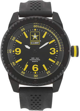 JCPenney WRIST ARMOR Wrist Armor US Army Mens Rubber Strap Watch