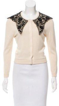 Behnaz Sarafpour Silk-Blend Knit Cardigan