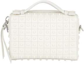 Tod's Diodon Gommini Micro Bag Leather White