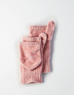 American Eagle Outfitters AE Chenille Flip Mitten