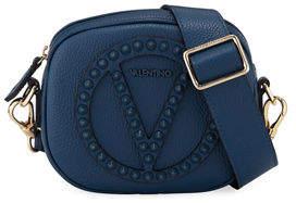 Mario Valentino Valentino By Nina Rock Dollaro Studded Crossbody Bag