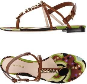 Etro Toe strap sandals