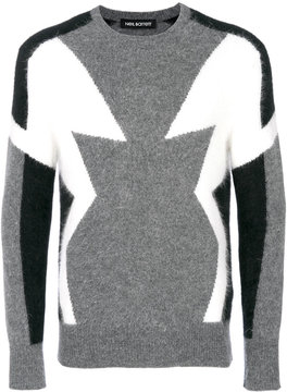 Neil Barrett patterned jumper