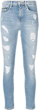 CK Calvin Klein ripped trim skinny jeans