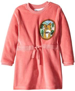 Mini Rodini Fox Velour Dress Girl's Dress