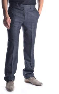 Gazzarrini Men's Grey Cotton Pants.