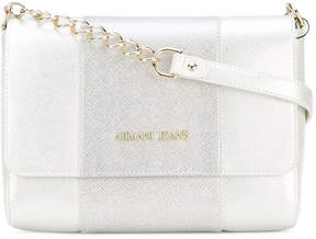 Armani Jeans two-tone shoulder bag