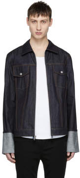 Helmut Lang Indigo Re-Edition Zip Denim Jacket