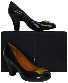 Marc by Marc Jacobs Black Leather Heels Sz