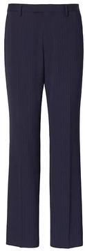Banana Republic Standard Navy Pinstripe Wool Suit Trouser