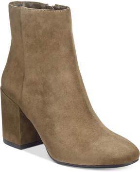 Bar III Gatlin Block-Heel Booties, Created for Macy's Women's Shoes