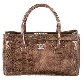 Chanel Small Python Executive Tote
