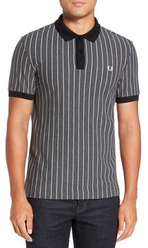 Fred Perry Men's Pinstripe Pique Polo