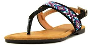 Nanette Lepore 70707 Open Toe Synthetic Thong Sandal.