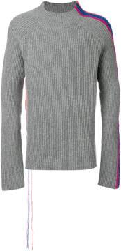 Paura Temel knitted jumper