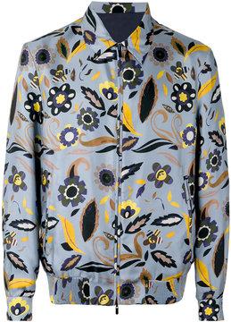 Fendi floral bomber jacket