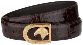 Stefano Ricci Eagle Head Buckle Crocodile Belt