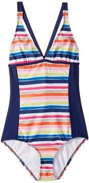 Splendid Littles Watercolor Horizon One-Piece (Big Kids)