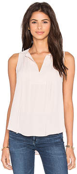 Eight Sixty Sleeveless Tie Top